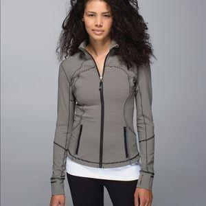 Lululemon Tonka Stripe Forme Jacket Size 12
